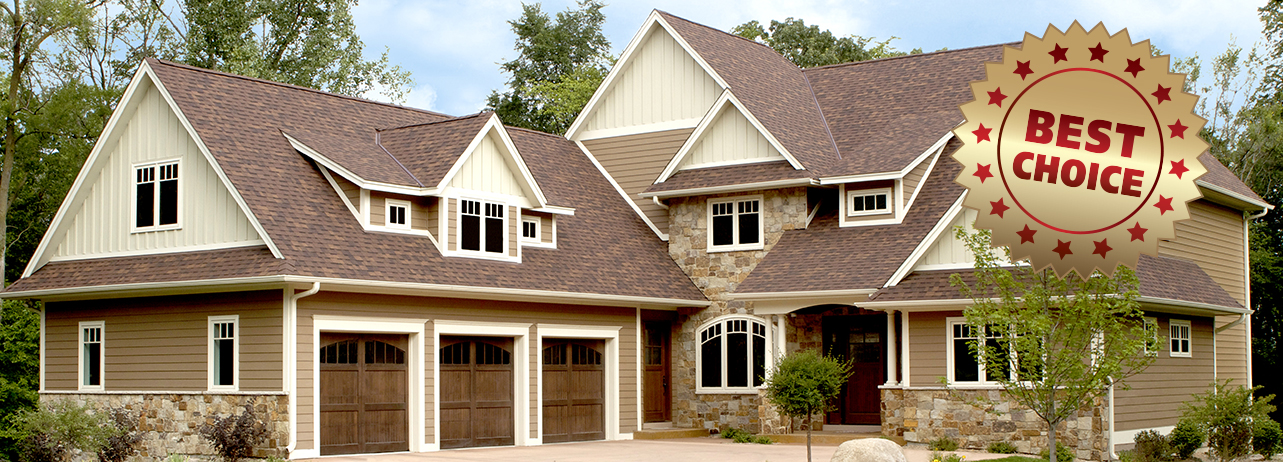 Award winning siding, roofing, and gutter services