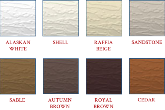 Siding Color Options