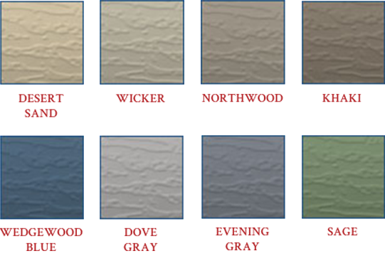 MN Siding Color Options